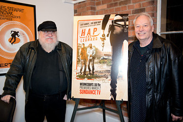 George R.R. Martin SundanceTv's 'Hap & Leonard' Screening And Q&A With Writer Joe Lansdale