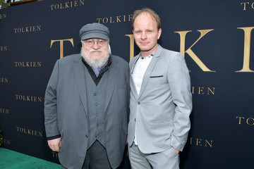 George R.R. Martin L.A. Special Screening Of Fox Searchlight Pictures' 'Tolkien' - Red Carpet