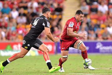 George Smith Super Rugby Rd 1 - Reds v Sharks