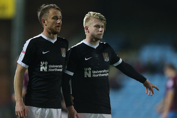 George Smith Scunthorpe United v Northampton Town - Emirates FA Cup First Round Replay