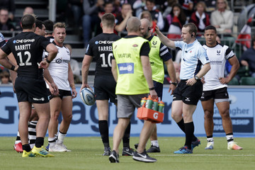 George Smith Saracens vs. Bristol Bears - Gallagher Premiership Rugby