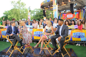 """George Stephanopoulos Ali Wentworth ABC's """"Good Morning America"""" - 2017"""
