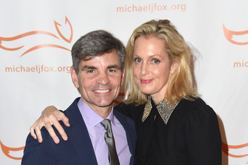 George Stephanopoulos Ali Wentworth 2017 A Funny Thing Happened on the Way to Cure Parkinson's - Arrivals