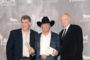 George Strait Press Room at the Academy of Country Music Awards
