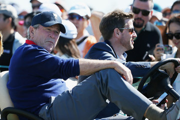 George W Bush The Presidents Cup - Round Two
