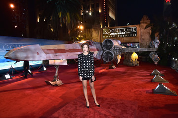 Georgie Flores The World Premiere of 'Rogue One: A Star Wars Story'