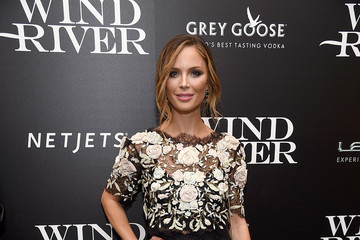 Georgina Chapman The Weinstein Company Hosts a Screening of 'Wind River' - Arrivals