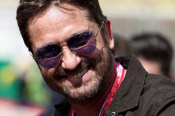 Gerard Butler F1 Grand Prix of USA