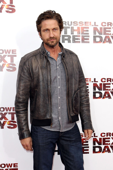 "Gerard Butler Gerard Butler attends the premiere of ""The Next Three Days"" at Ziegfeld Theatre on November 9, 2010 in New York City."