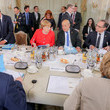 Gerard Collomb France And Germany Hold Government Consultations