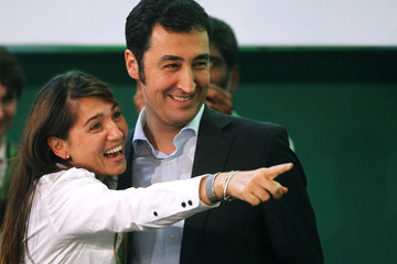 Cem Oezdemir Pia Maria Castro German Greens Party National Convention