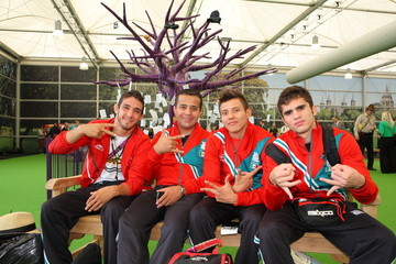 German Sanchez Sanchez Olympic Athletes Depart From Heathrow As The London 2012 Olympics Draws To A Close