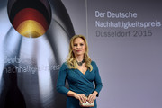 Regina Halmich attends the German Sustainability Award 2015 (Deutscher Nachhaltigkeitspreis) at Maritim Hotel on November 27, 2015 in Duesseldorf, Germany.