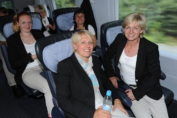 Patrizia Hell Germany: Travel To Duesseldorf - FIFA Women's World Cup 2011