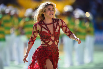Shakira WAS Pregnant When She Wore That Sexy Red Dress at the World Cup Closing Ceremony