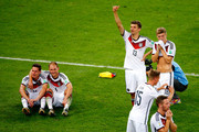 Germany celebrate defeating Argentina 1-0 in extra-time during the 2014 FIFA World Cup Brazil Final match between Germany and Argentina at Maracana on July 13, 2014 in Rio de Janeiro, Brazil.