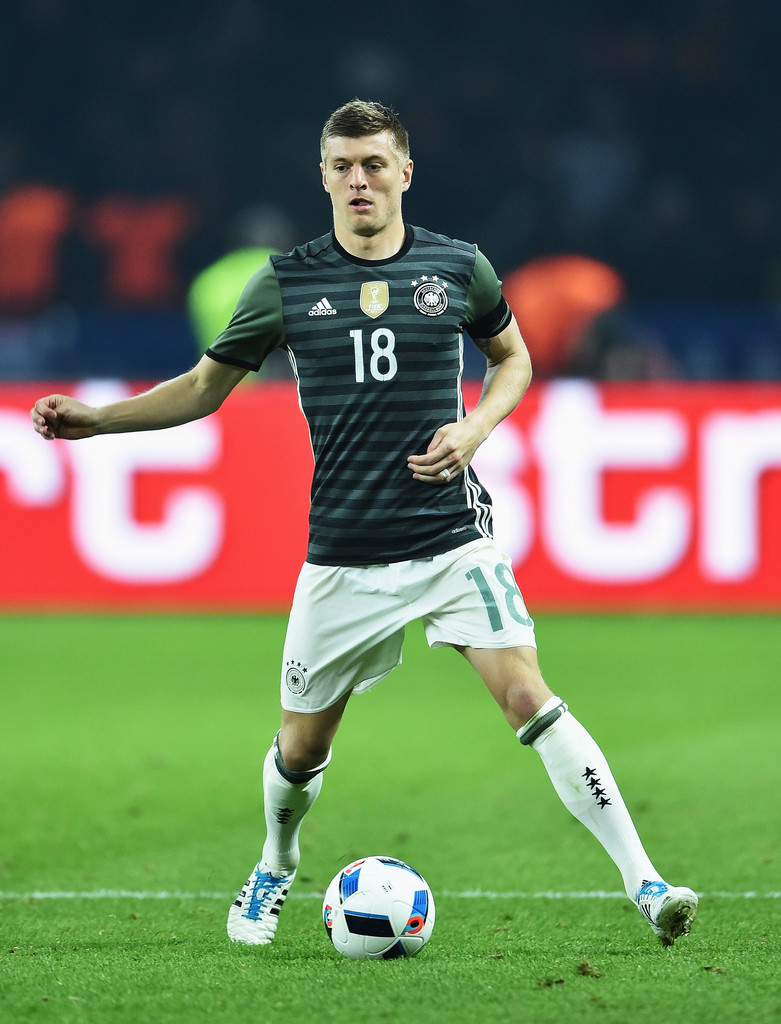 Toni Kroos s s Germany v England International