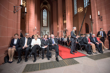 Gertrud lammert Germany Celebrates 25 Years Since Reunification