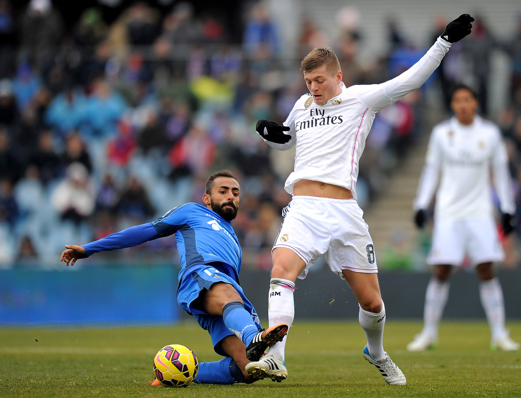 Real Madrid Vs Getafe Cf: Toni Kroos In Getafe CF V Real Madrid CF
