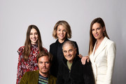 The backdrop of this image has been retouched.).(Back L-R) Actor Taissa Farmiga, filmmaker Elizabeth Chomko and actor Hilary Swank (Front L-R) actors Michael Shannon and Robert Forster from the film 'What They Had' pose for a portrait during the 2018 Toronto International Film Festival at Intercontinental Hotel on September 10, 2018 in Toronto, Canada.