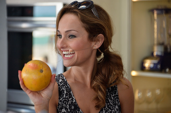 Giada De Laurentiis Nails  Source Frazer HarrisonGetty