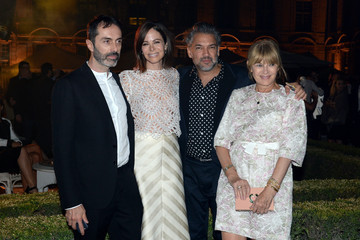 Giambattista Valli Celebs Attend the Tory Burch Paris Flagship Opening After Party