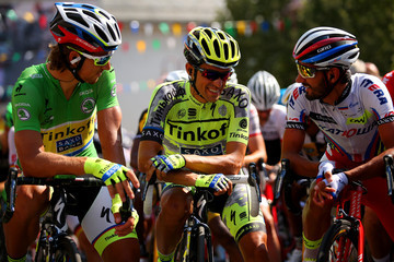 Giampaolo Caruso Le Tour de France 2015 - Stage Twelve