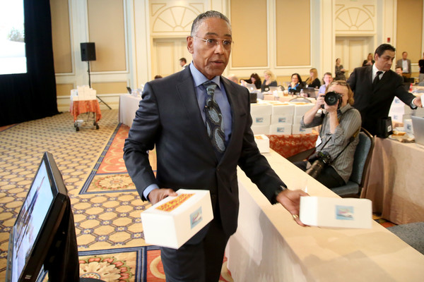 2017 Winter TCA Tour - Day 10 [better call saul,event,businessperson,meeting,management,employment,white-collar worker,job,tourism,business,company,winter tca,giancarlo esposito,boxes,chicken,portion,langham hotel,los pollos hermanos,amc,panel]