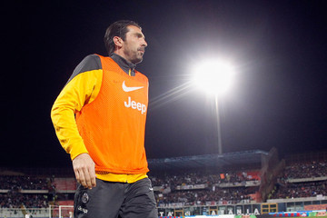 Gianluigi Buffon Calcio Catania Match Against Juventus