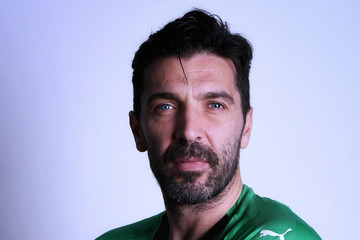 Gianluigi Buffon Italy Portrait Session