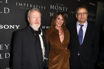 Giannina Facio Premiere Of Sony Pictures Entertainment's 'All The Money In The World' - Red Carpet