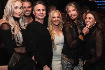 "Gideon Kimbrell DuJour's Jason Binn And Nicole Vecchiarelli Celebrate The ""Steven Tyler...Out On A Limb"" Charity Show Benefitting Janie's Fund With An Exclusive Event At LAVO"