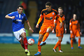 Giles Coke Portsmouth v Ipswich Town - The Emirates FA Cup Third Round