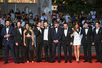 """Gilles Lellouche Cyril Lecomte """"Bac Nord"""" Red Carpet - The 74th Annual Cannes Film Festival"""