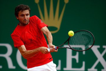 Gilles Simon ATP Masters Series: Monte Carlo Rolex Masters - Day Four