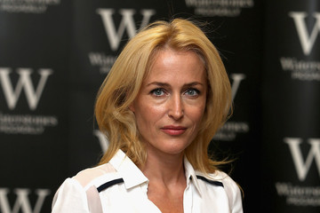 Gillian Anderson Gillian Anderson's Book Signing Event