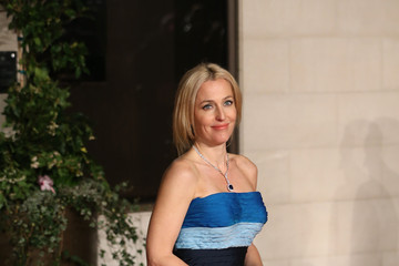 Gillian Anderson The EE British Academy Film Awards: Dinner - Red Carpet Arrivals