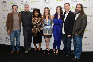Gillian Jacobs Alison Brie 'Community' Cast Honored at PaleyFest 2013