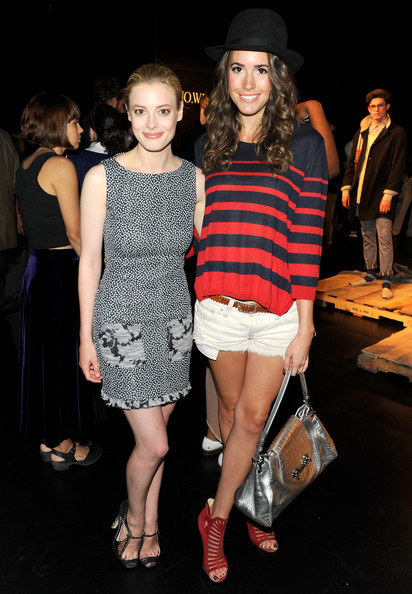 Gillian Jacobs and Louise Roe - Around Lincoln Center Day 4 - Spring