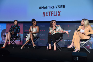 Gillian Jacobs Comediennes: In Conversation At Netflix FYSEE - Inside