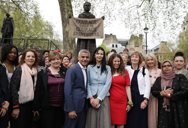 First Female Suffragette Millicent Fawcett Statue Unveiled In Parliament Square