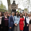 Gillian Wearing First Female Suffragette Millicent Fawcett Statue Unveiled In Parliament Square
