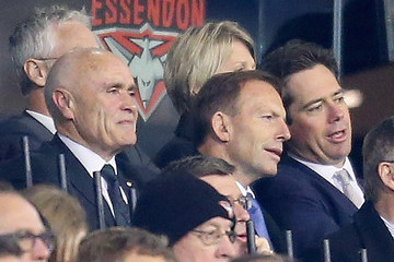 Gillon McLachlan AFL Rd 11 - Essendon v Richmond