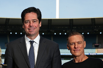 Gillon McLachlan 2015 AFL Grand Final Entertainment Media Opportunity