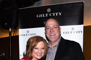 """Caroline and Albert Manzo arrive to Gilt City New York (giltcity.com) Celebrates RHONJ Star Caroline Manzo And Her New Book """"Let Me Tell You Something."""" at Asellina Gansevoort Park Hotel on March 21, 2013 in New York City."""