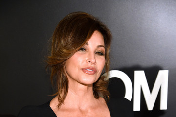 Gina Gershon Tom Ford Presents His Autumn/Winter 2015 Womenswear Collection At Milk Studios In Los Angeles - Red Carpet