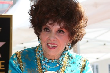 Gina Lollobrigida Gina Lollobrigida Is Honored With a Star on the Hollywood Walk of Fame