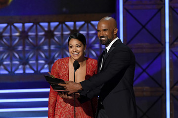 Gina Rodriguez 69th Annual Primetime Emmy Awards - Show