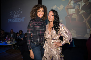 """Gina Torres Premiere Of Disney +'s """"Diary Of A Future President"""" - After Party"""