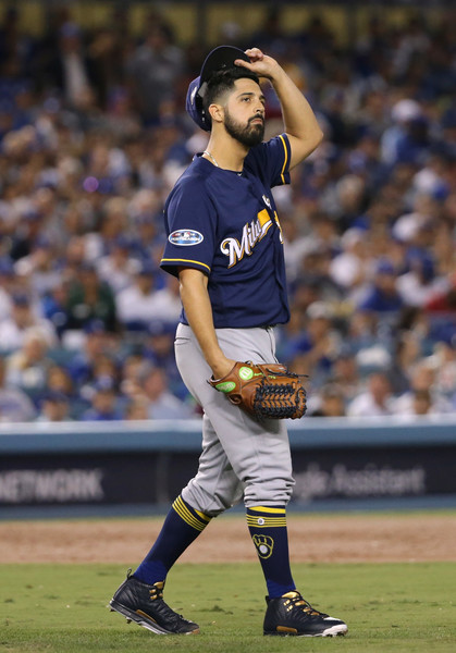 League Championship Series - Milwaukee Brewers vs. Los Angeles Dodgers - Game Four